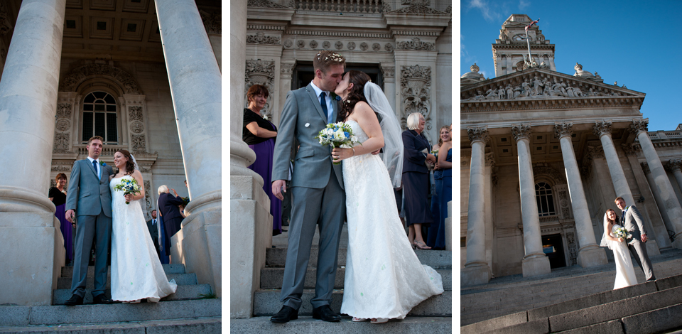 Portsmouth Wedding Photography Guildhall