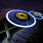 Light painting photographer