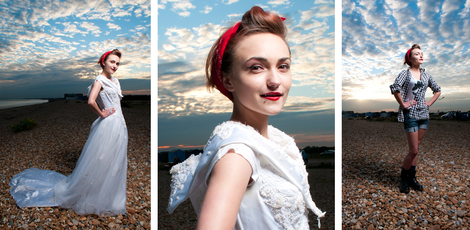 Bridal shoot - Hayling Island