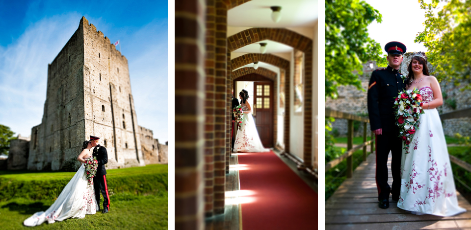 Portsmouth Wedding Photographer - Portchester Castle