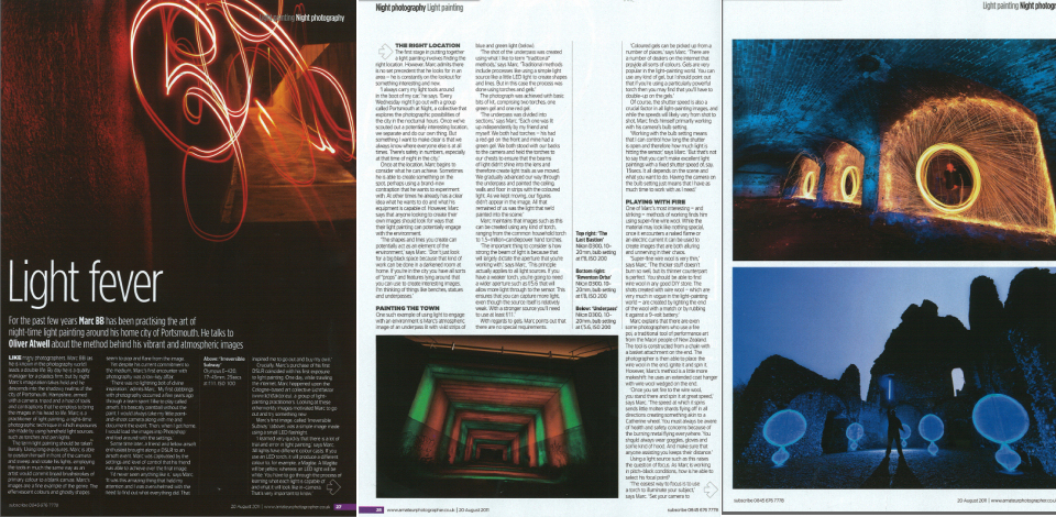 Light Painting article Amateur Photographer