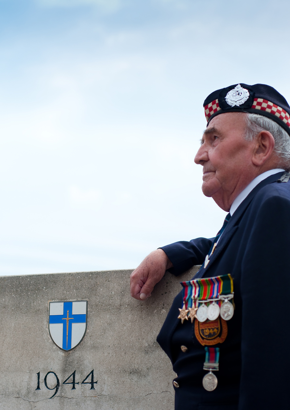 Southsea veteran photographer D-Day