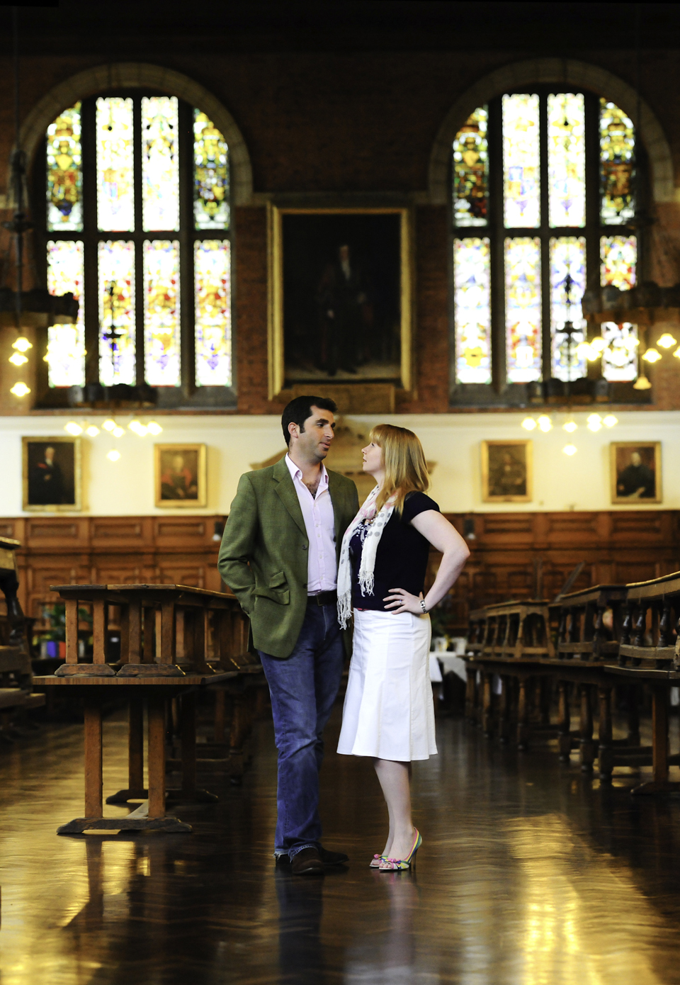 Wedding shoot Christs College Hospital