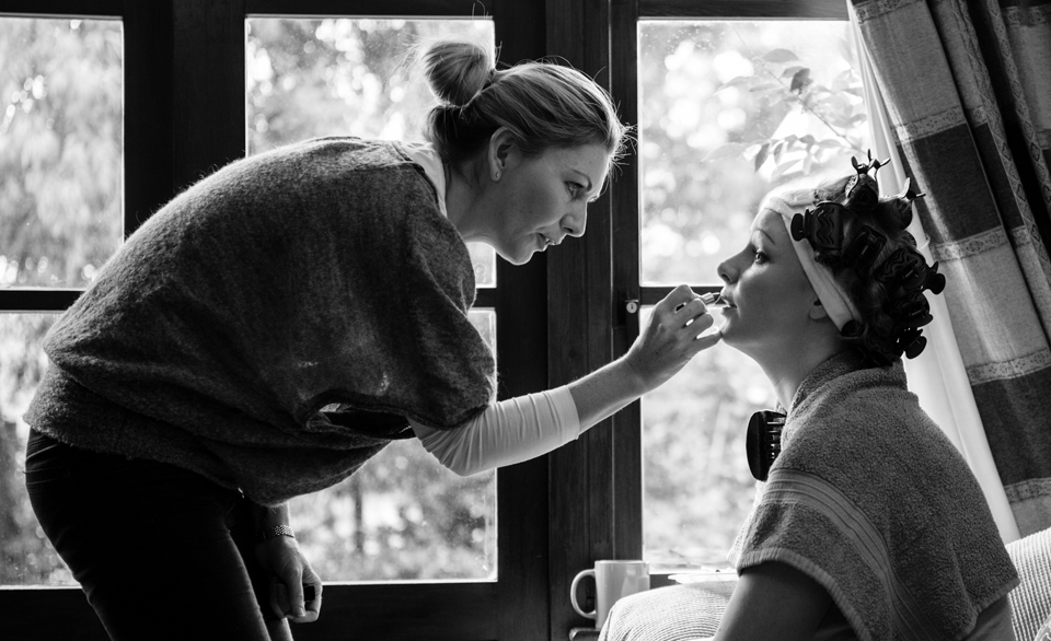Bridal Preparation Photographer