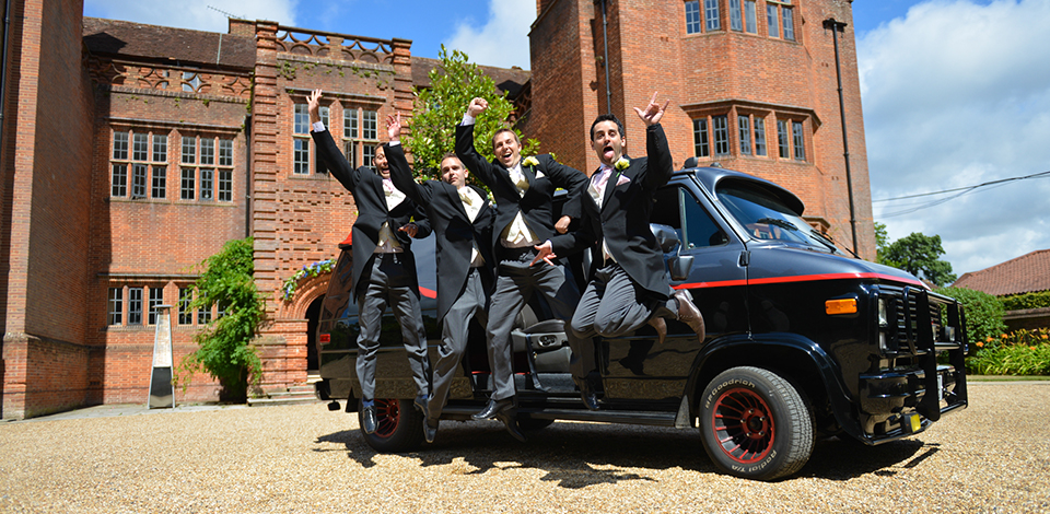 A-Team wedding